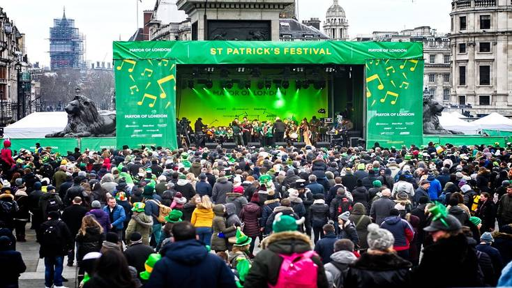 Spend St. Patrick's Day in London