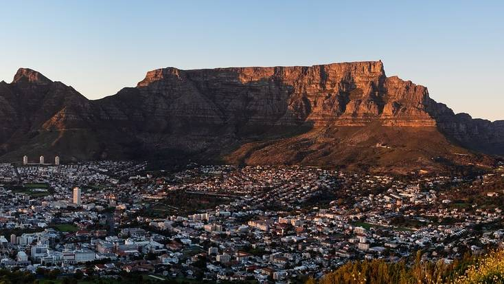 South Africa and Table Mountain are one of our unique places to travel in 2020