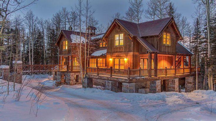Cabin vacation rental in Telluride, Colorado for college spring break.
