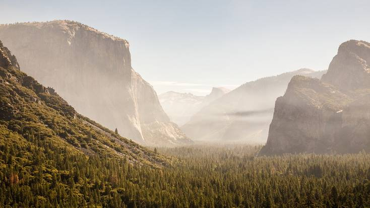 Spend your California vacation exploring Yosemite National Park