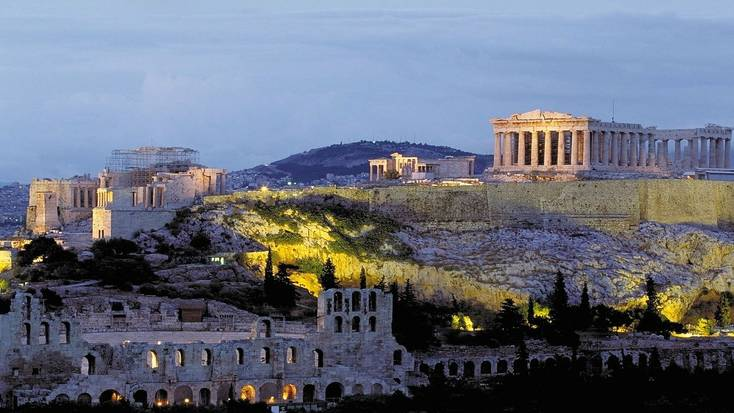 Things to do in Greece include visiting The Acropolis