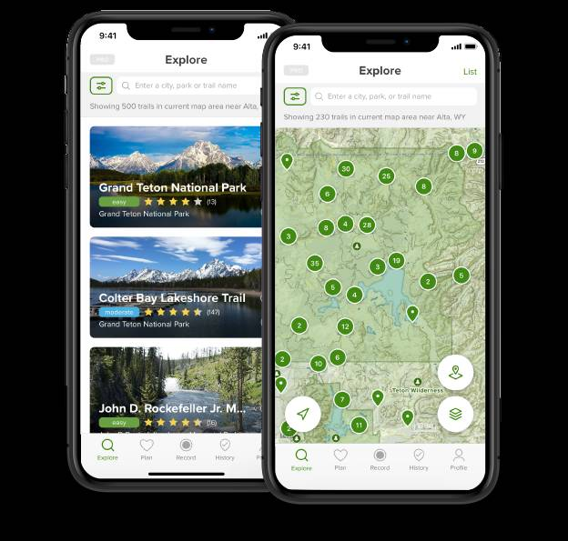 AllTrails is one of the best hiking apps for 2020