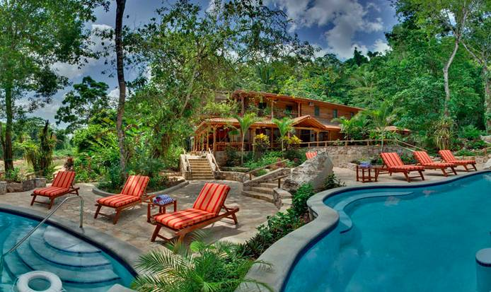 Enjoy a stay in this luxury tree house rental for your South America honeymoon in Belize