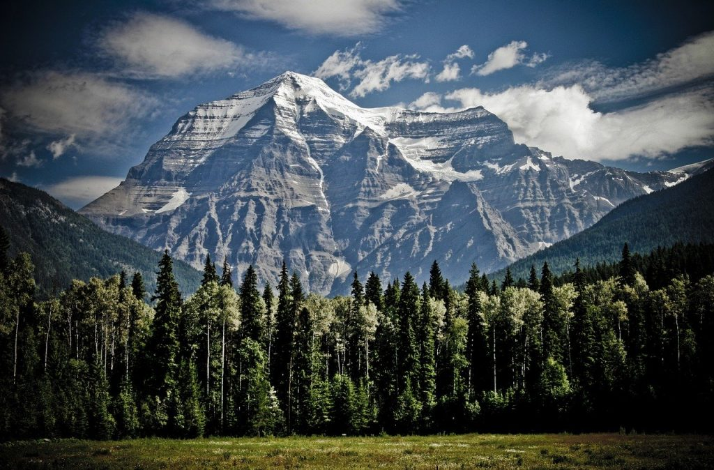 Head to British Columbia with your tax refund and enjoy views like this of Mount Robson