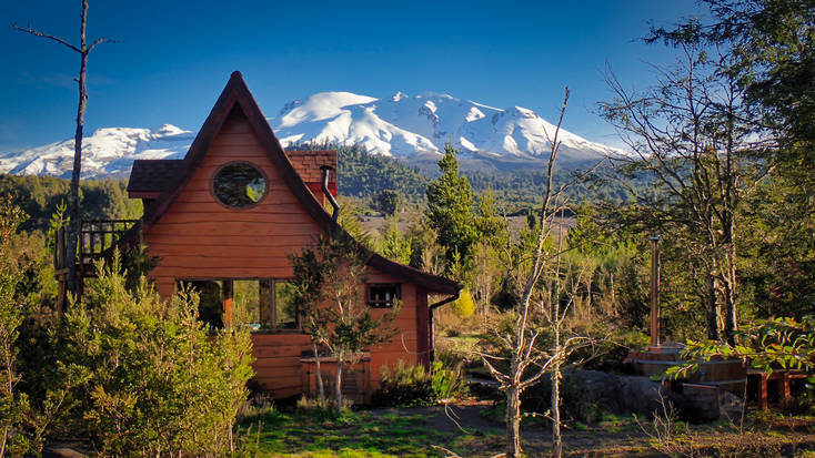 Stay in secluded rentals in Chile for a romantic vacation after your wedding