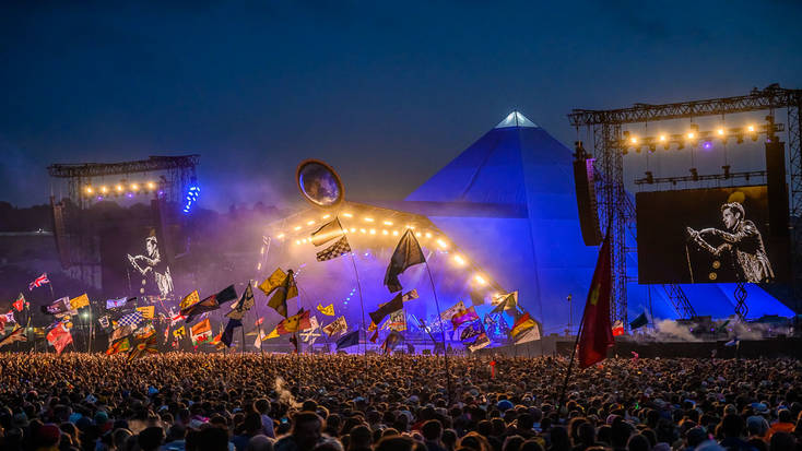 The Killers at Glastonbury Festival, 2019