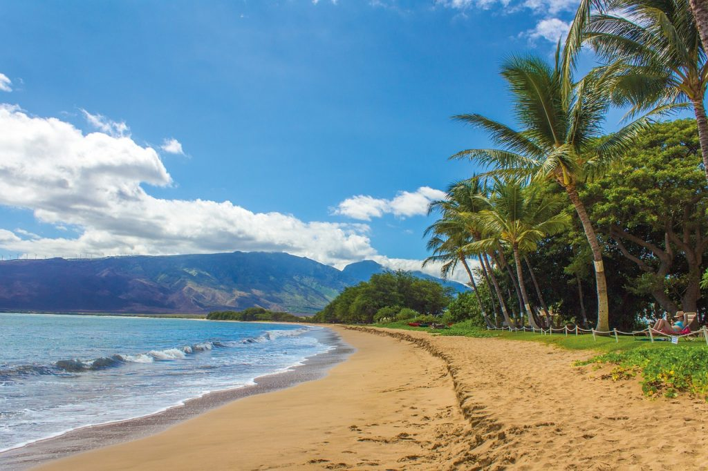 Explore the beaches in Hawaii