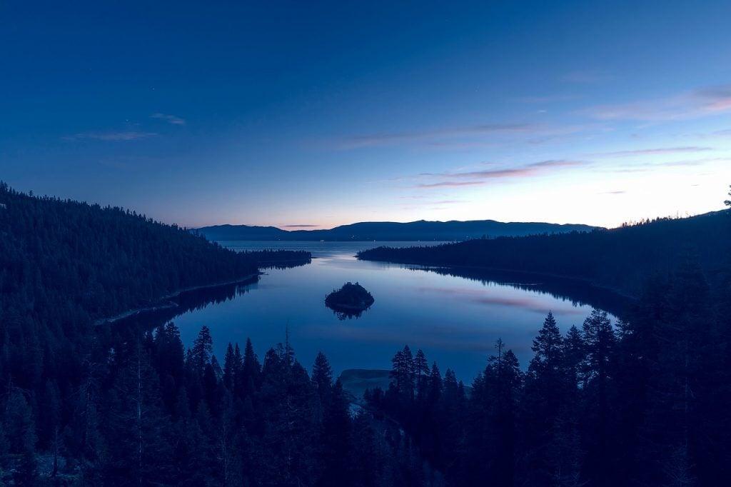 Enjoy stunning views over Lake Tahoe