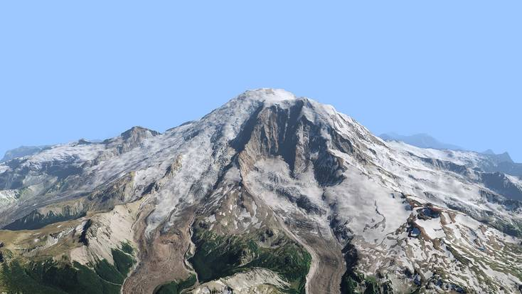 Visit Mount Rainier National Park this spring