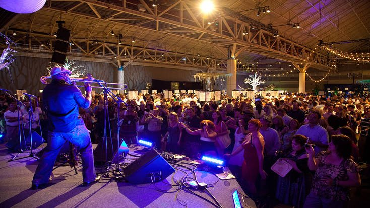 Enjoy live music at the New Orleans Wine and Food Experience