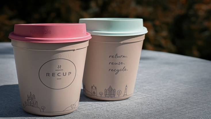 Reusable products like personal coffee mugs
