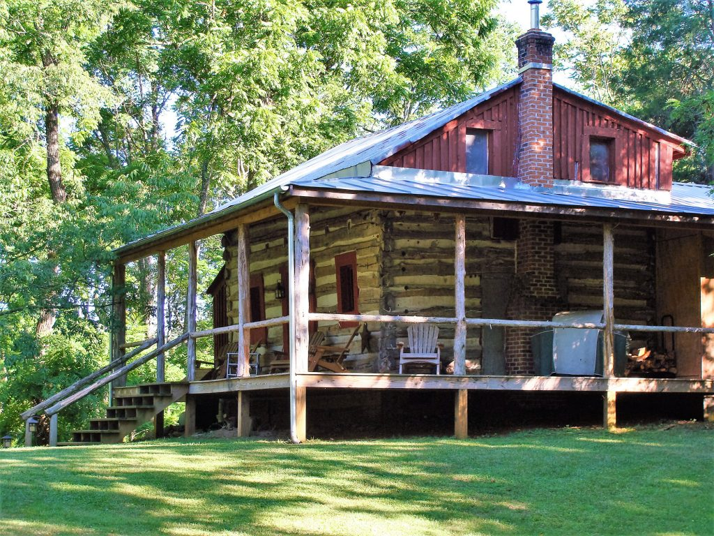 Stay in camping cabins along Skyline Drive, Virginia