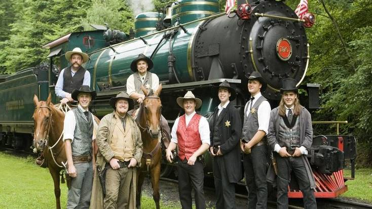 Take a ride on the Tweetsie Railroaf