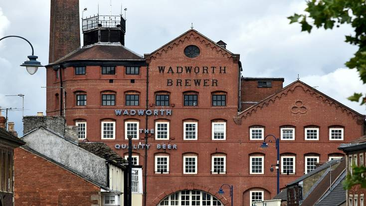 Wadworth Brewery in Devizes, Wiltshire