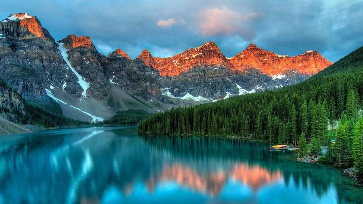 Incredible views in Banff for inspiring vacations