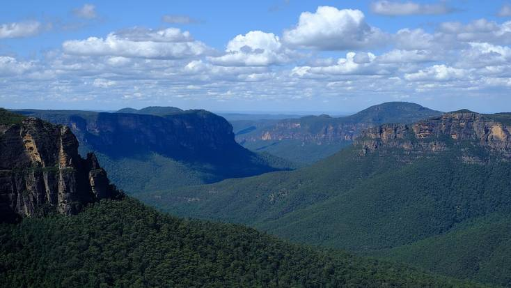 The stunning Blue Mountains National Park, New South Wales