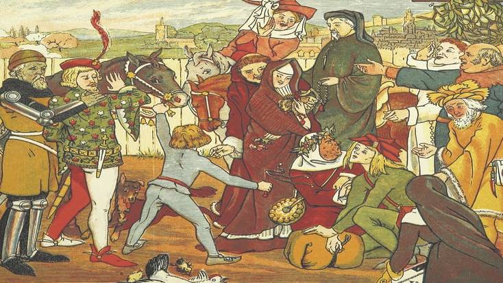 The Canterbury Tales may have been one of the first reference to April Fools Day in literature