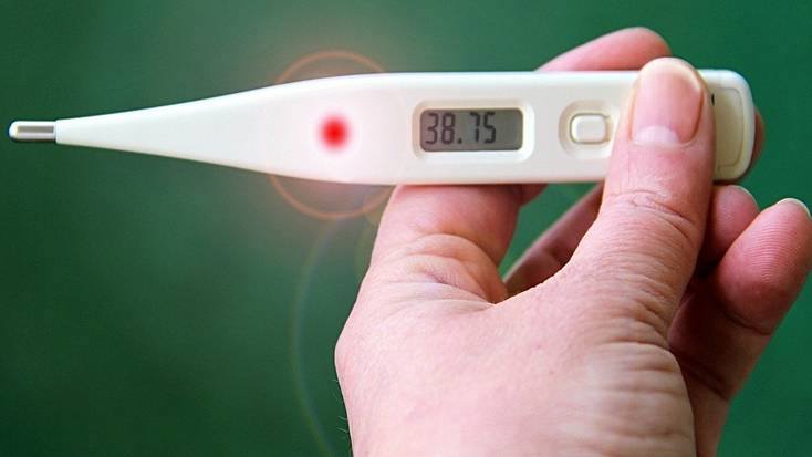 A fever is one of the symptoms of coronavirus