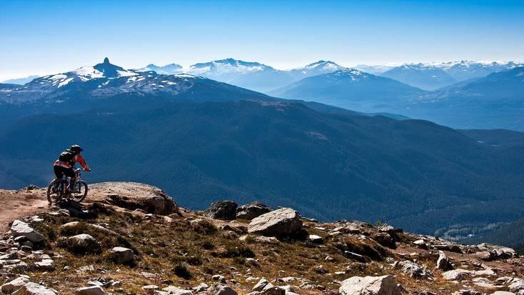 Mountain biking in Whistler for Victoria Day