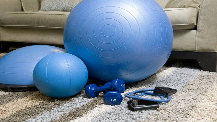 Come up with a home workout routine during isolation