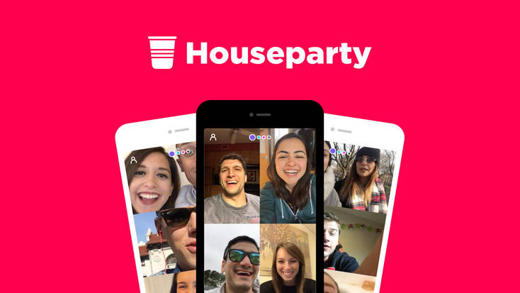 Plan a Houseparty from a distance