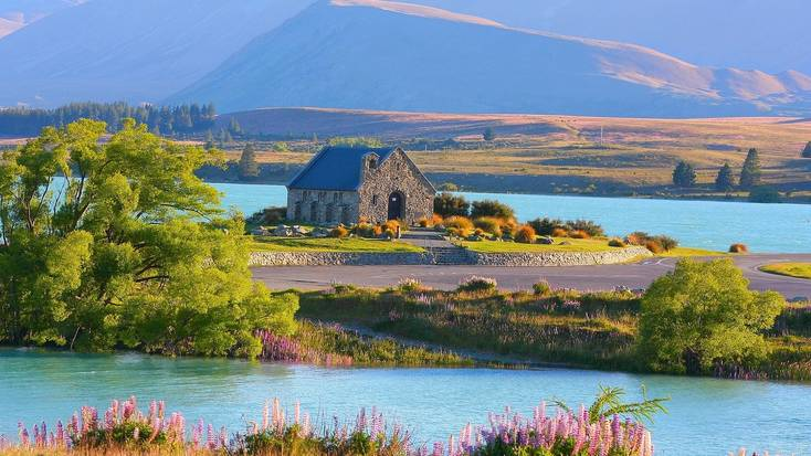 Visit Lake Tekapo in New Zealand