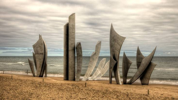 Visit the Omaha Memorial in Normandy