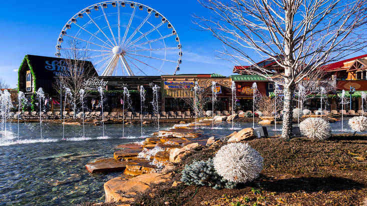 The Island theme park in Pigeon Forge