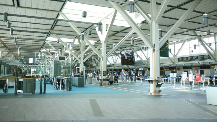 Vancouver International Airport is one of four airports to remain open during travel restrictions