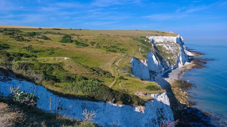 Visit Kent and see the famous White Cliffs of Dover