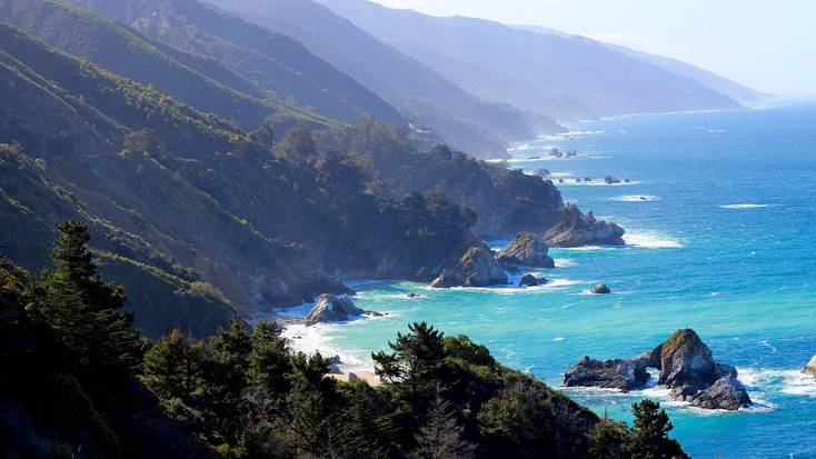 Check out the dog-friendly beaches in Big Sur
