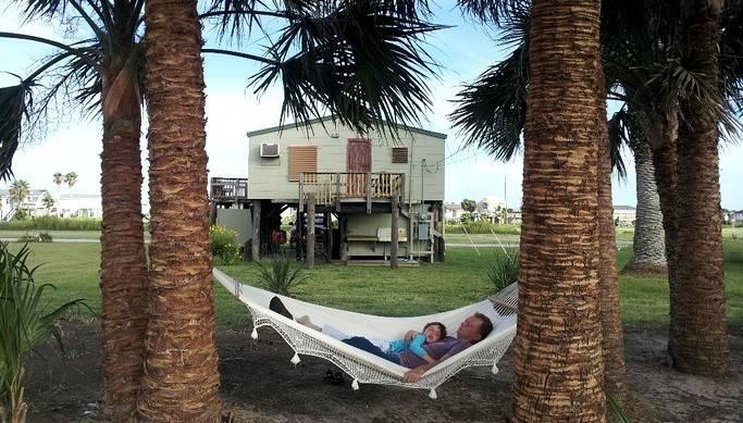 cabin rental on Galveston Island, Texas