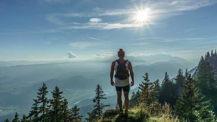 Go hiking during your mountain getaways