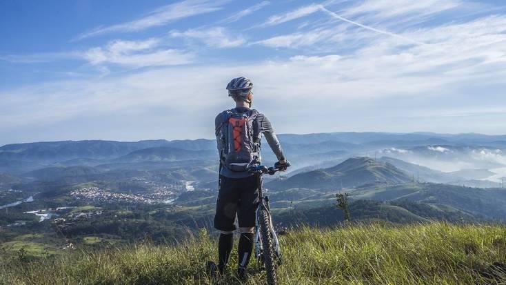 Explore mountain biking trails