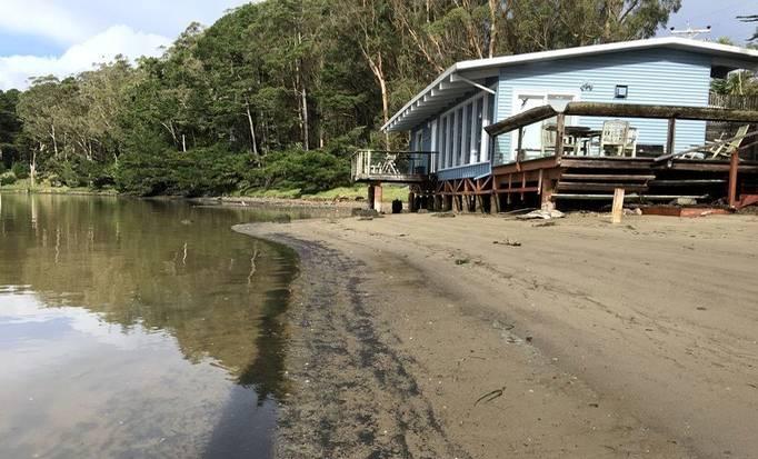 Cabin on Port Reyes National Seashore, California