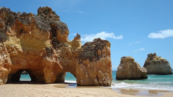 Head to the beaches in Portugal. Holidays in the sun.