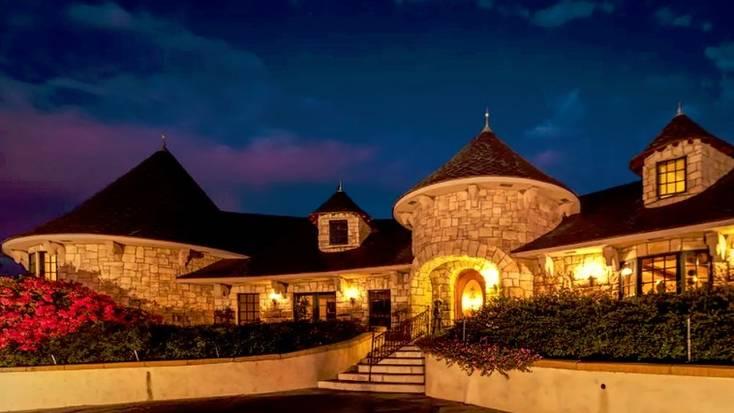 A castle rental in San Luis Obispo, CA.