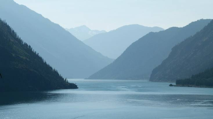 Seton Lake in British Columbia