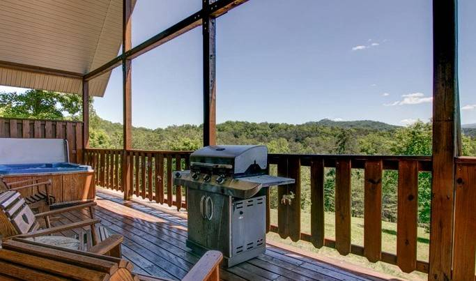 Cabin rental in Sevierville, Tennessee
