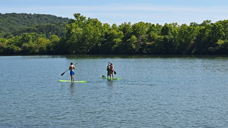 Enjoy watersports in the Great Smoky Mountains