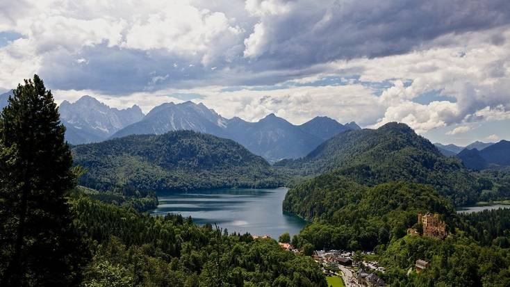 Visit Germany to discover stunning mountains and lakes