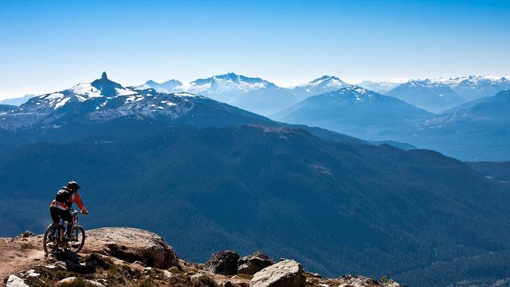 Mountain biking in the Rocky Mountains for BC Day 2020