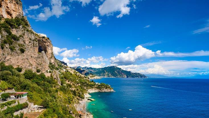 The Amalfi Coast has some of the best beaches in Italy