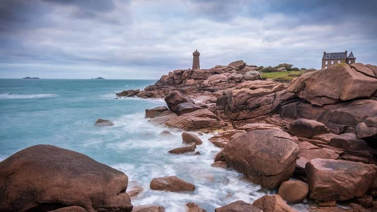 Visit the Pink Granite Coast, Brittany, this bank holiday weekend