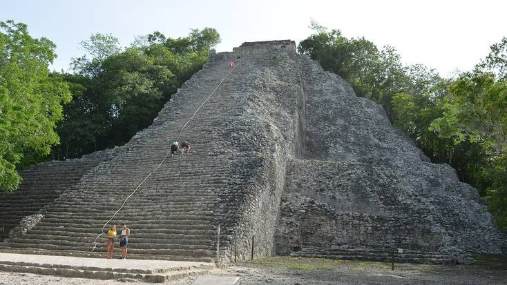Visit Coba Mayan Village, one of the best things to do in Riviera Maya