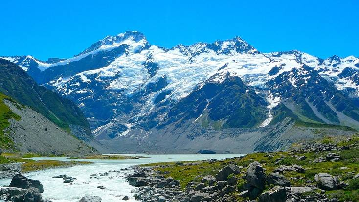 Visit Mount cook during your holidays in New Zealand