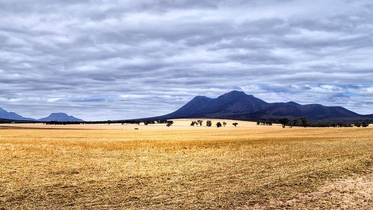 The mountains in Western Australia