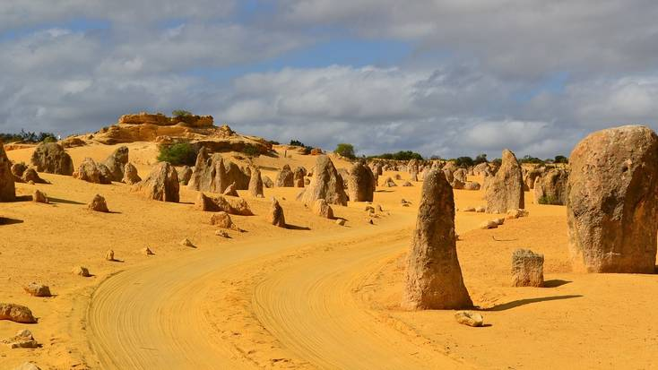 Visit Nambung National Park during your staycation in Western Australia