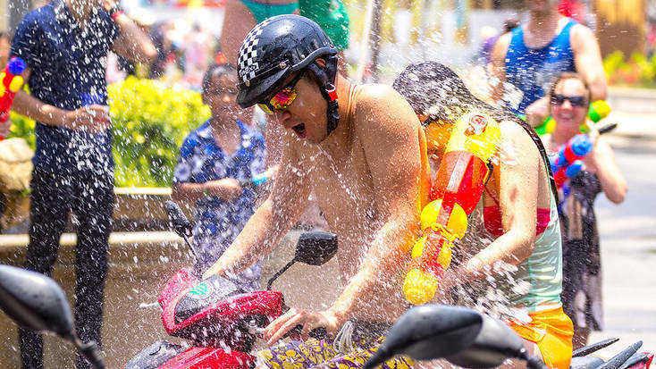 Celebrate Songkran in April 2021