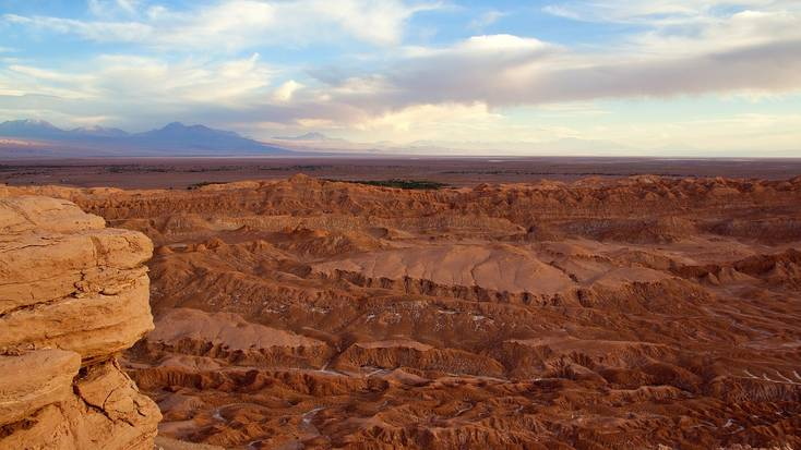A Mars landscape in the Atacama Desert
